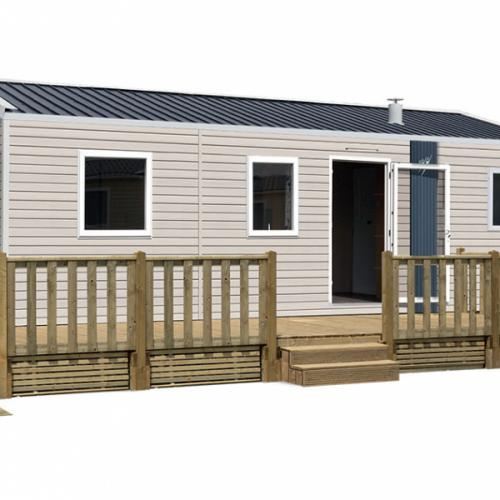 LODGE LO87PMR - Cabal Loisirs - Mobil-homes en Normandie