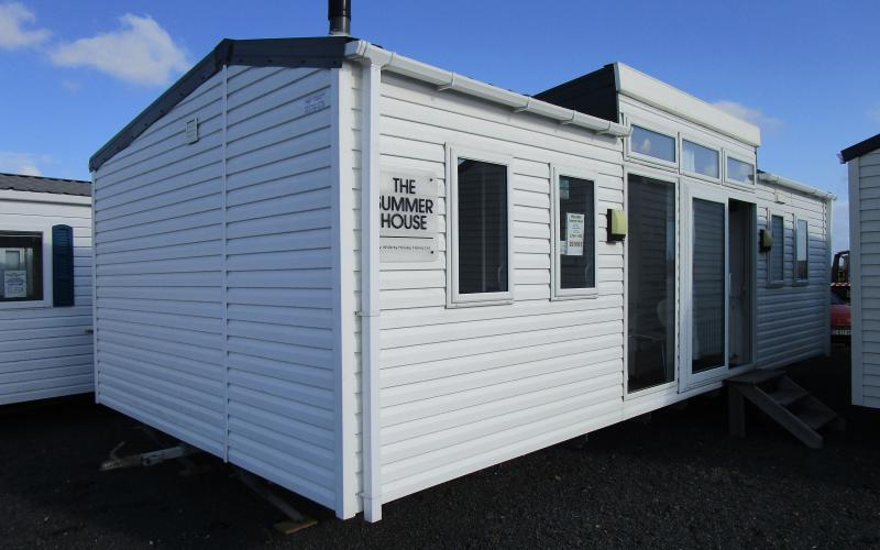 WILLERBY SUMMER HOUSE - exterieur  - Vente mobil-homes neuf et occasion en Normandie